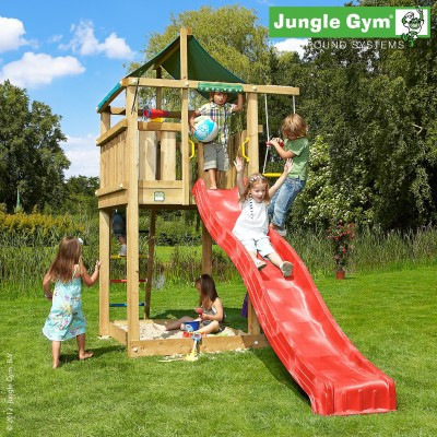 Jungle Gym Lodge Jungle Gym Climbing Frames