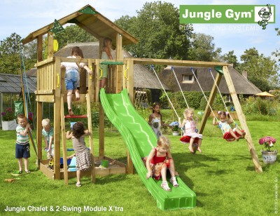 jungle gym chalet jungle gym climbing frames. Black Bedroom Furniture Sets. Home Design Ideas