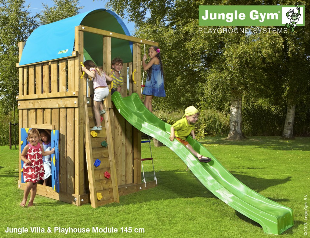 jungle gym villa jungle gym climbing frames. Black Bedroom Furniture Sets. Home Design Ideas