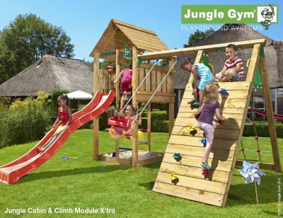 Jungle Gym For Sale >> Jungle Gym Cabin – Jungle Gym Climbing Frames