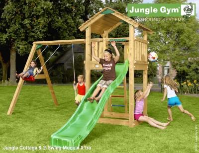 jungle gym cottage jungle gym climbing frames. Black Bedroom Furniture Sets. Home Design Ideas