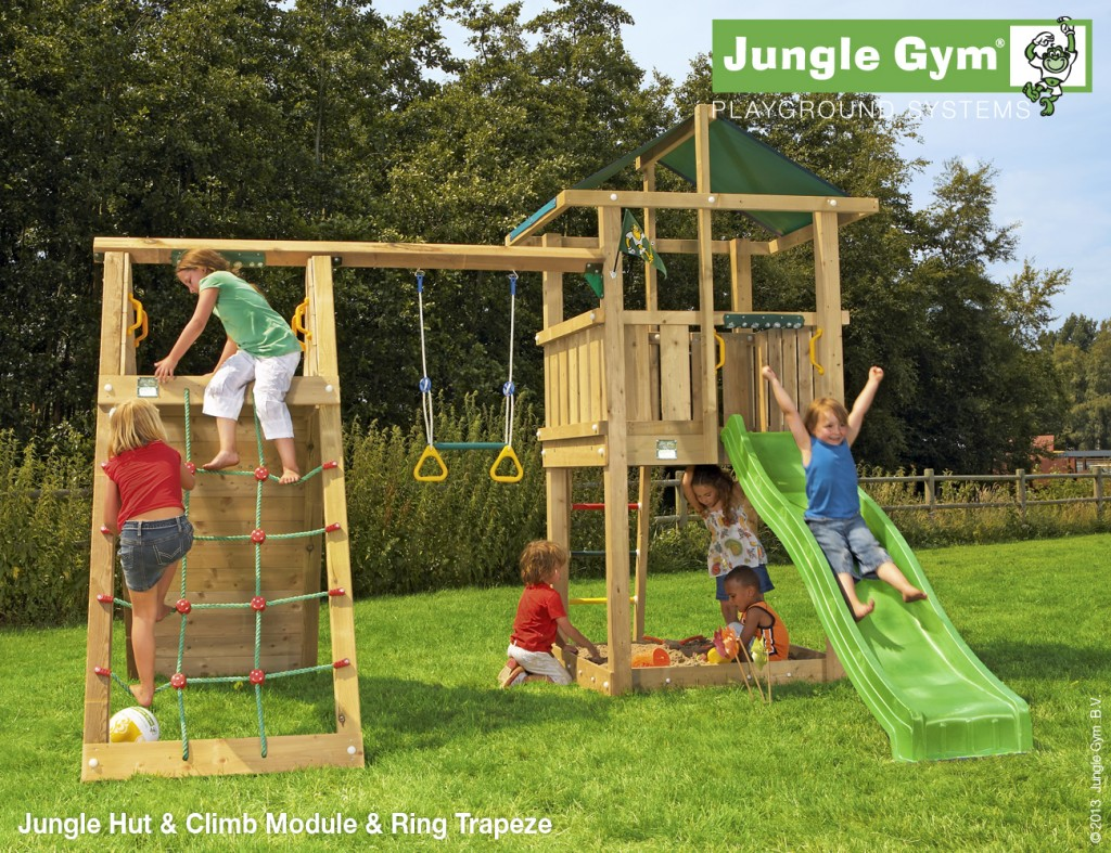Jungle Gym Hut Jungle Gym Climbing Frames