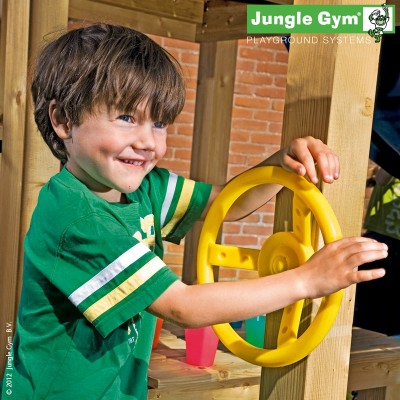 image of jungle gym steering wheel