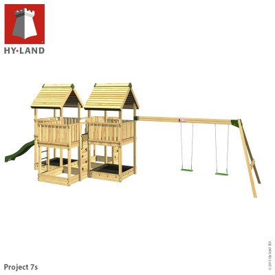 Commercial Childrens Climbing Frame & Swings