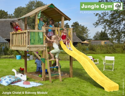 Balcony module jungle gym climbing frames for Balcony jungle