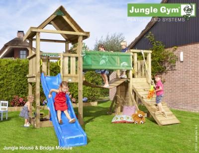 jungle gym house jungle gym climbing frames. Black Bedroom Furniture Sets. Home Design Ideas
