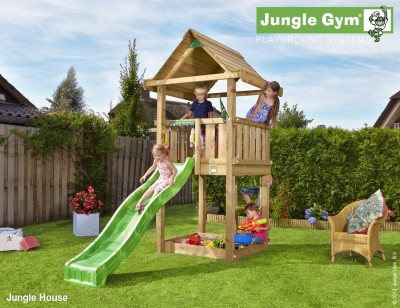 jungle gym house jungle gym climbing frames. Black Bedroom Furniture Sets. Home Design Ideas