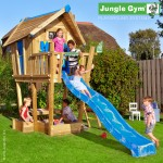 Jungle Gym Crazy Playhouse with Slide