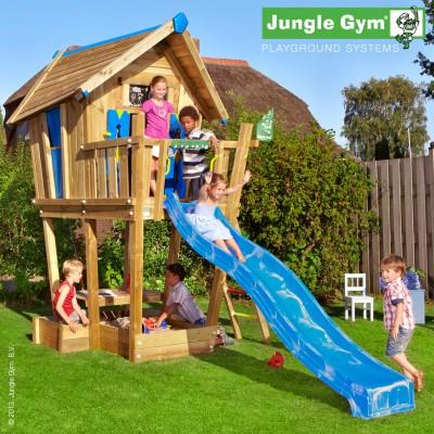 Jungle Gym Crazy Playhouse with Slide