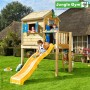 Junge Gym Playhouse Grow With Me with Large Platform & Slide Only
