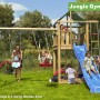 Jungle Gym Lodge & Swing