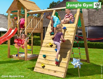 climb module xtra jungle gym climbing frames. Black Bedroom Furniture Sets. Home Design Ideas