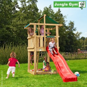 Jungle Gym Hut Wooden Climbing Frame